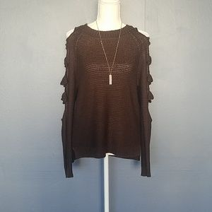 Tops - Brown sexy sweater